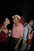 SAMANTHA LOVE AND KEVIN ROWLAND  The Bedroom Secrets of the Master Chefs by Irvine Welsh. the Play Room, 10 Air St. London. 3 August 2006. ONE TIME USE ONLY - DO NOT ARCHIVE  © Copyright Photograph by Dafydd Jones 66 Stockwell Park Rd. London SW9 0DA Tel 020 7733 0108 www.dafjones.com