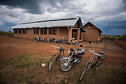Counsellor training at the Youth Centre. The main modes of transport in the area are bicycles, a few motorbikes and on foot. Vehicles are very rare and largely run by the big aid agencies or the UN. Visit to the work of Network for Africa in Patongo, Northern Uganda, November 2012.