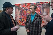 MARTIN WARD; JIM SHAW JIM SHAW AT SIMON LEE GALLERY.- 12 BERKELEY ST. London. 11 February 2013.