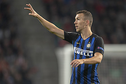 October 4, 2018 - Eindhoven, Netherlands - Ivan Perisic of Inter during the UEFA Champions League Group B match between PSV Eindhoven and FC Internazionale Milano at Philips Stadium in Eindhoven, Holland on October 3, 2018  (Credit Image: © Andrew Surma/NurPhoto/ZUMA Press)