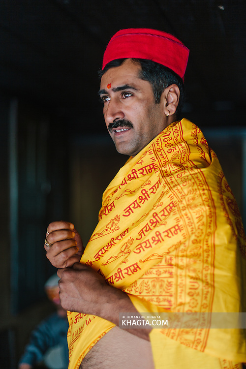 Priest of Lord Raghunath. Kullu Dussehra is the Dussehra festival observed in the month of October in Himachal Pradesh state in northern India. It is celebrated in the Dhalpur maidan in the Kullu valley. Dussehra at Kullu commences on the tenth day of the rising moon, i.e. on 'Vijay Dashmi' day itself and continues for seven days. Its history dates back to the 17th century when local King Jagat Singh installed an idol of Raghunath on his throne as a mark of penance. After this, god Raghunath was declared as the ruling deity of the Valley.