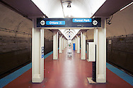 Chicago/Milwaukee Blue Line Station, Chicago, IL.