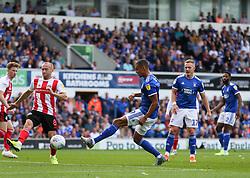 Kayden Jackson of Ipswich Town shoots - Mandatory by-line: Arron Gent/JMP - 10/08/2019 - FOOTBALL - Portman Road - Ipswich, England - Ipswich Town v Sunderland - Sky Bet League One