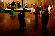 072410-Evergreen, COLORADO-jazzfest-Couples dance as the Carl Sonny Leyland Trio plays during the 2010 Evergreen Jazz Fest Saturday, July 24, 2010 at the Elks Ballroom..Photo By Matthew Jonas/Evergreen Newspapers/Photo Editor