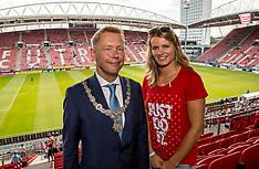 20170816 NED: Huldiging Dafne Schippers bij FC Utrecht, Utrecht
