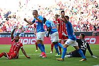 Esultanza dopo il gol di Kalidou Koulibaly Napoli <br /> Monaco 02-08-2017  Stadio Allianz Arena<br /> Football Audi Cup 2017 <br /> Bayern Monaco - Napoli<br /> Foto Cesare Purini / Insidefoto