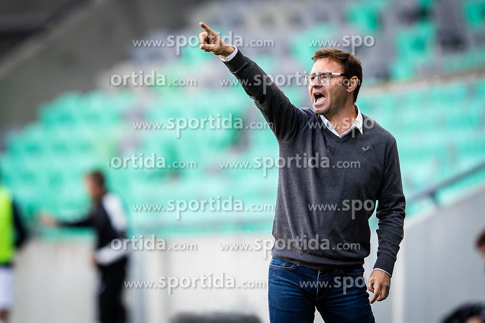 Nikola Jaros head coach of NK Rudar  during football match between NK Olimpija and NK Rudar Velenje in 2nd Round of Slovenian Cup 2019/20, on August 15, 2019 in Arena Stozive, Ljubljana, Slovenia. Photo by Grega Valancic / Sportida