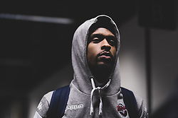 Levi Bradley of Bristol Flyers arrives at Copper Box Arena prior to kick off - Photo mandatory by-line: Ryan Hiscott/JMP - 18/12/2019 - BASKETBALL - Copper Box Arena - London, England - London Lions v Bristol Flyers - British Basketball League Championship