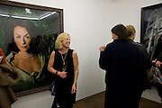 CINDY SHERMAN, Cindy Sherman exhibition. Spruth Magers, London. Grafton st. London. Afterwards at Bellamy's, Bruton Place. 15 April 2009.  *** Local Caption *** -DO NOT ARCHIVE-© Copyright Photograph by Dafydd Jones. 248 Clapham Rd. London SW9 0PZ. Tel 0207 820 0771. www.dafjones.com.<br /> CINDY SHERMAN, Cindy Sherman exhibition. Spruth Magers, London. Grafton st. London. Afterwards at Bellamy's, Bruton Place. 15 April 2009.