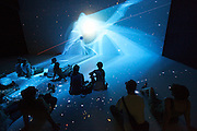 Linz, Cultural Capital of Europe 2009. Ars Electronica Center. Deep Space: Experience a new dimension of travel through space and time. Immerse yourself into breathtaking 3D stereo universes featuring jumbo-format, high-definition images. A virtual trip through our universe.