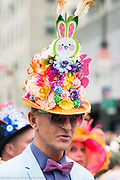 Easter Bonnet Parade on Fifth Avenue in New York City on Easter Sunday