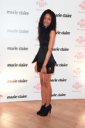 NAOMIE HARRIS at a party to promote Marie Claire magazine Inspire & Mentor Campaign held at The Loft, The Ivy Club, West Street, London on 30th March 2010.
