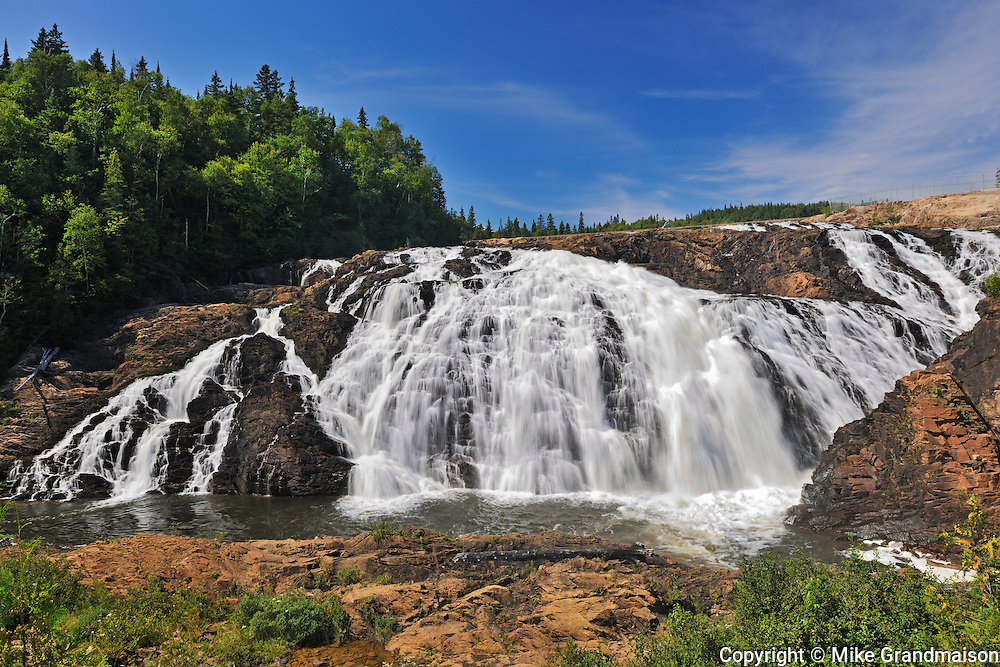 Magpie River at High (Magpie) Falls<br /> Wawa<br /> Ontario<br /> Canada