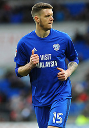 Greg Halford of Cardiff City - Mandatory by-line: Nizaam Jones/JMP - 17/02/2018 -  FOOTBALL - Cardiff City Stadium - Cardiff, Wales -  Cardiff City v Middlesbrough - Sky Bet Championship