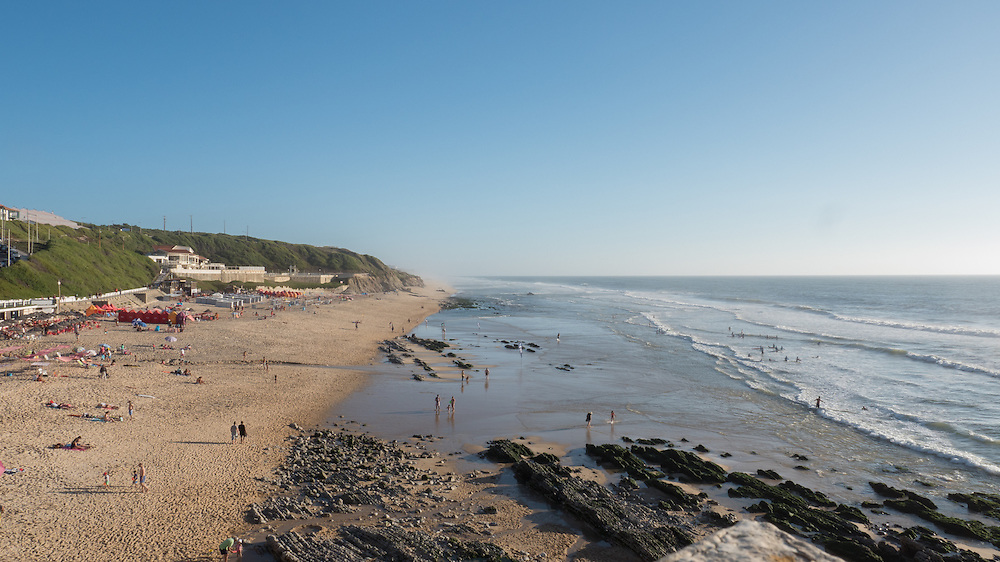 A much smaller and nicer beach called São Pedro de Moel.