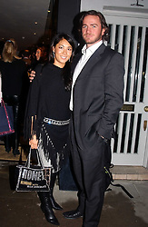 ALISON CHOW and DANIEL HOUGH <br /><br />at a party to celebrate the launch of the Katharine Pooley interiors store, 160 Walton Street, London SW3 on 20th October 2004.<br /><br /><br /><br /><br /><br />NON EXCLUSIVE - WORLD RIGHTS