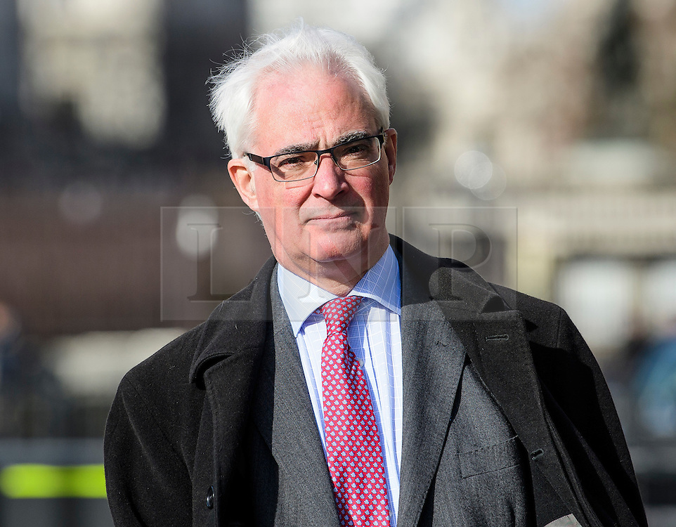 © Licensed to London News Pictures.07/03/2017.London, UK. Labour peer, LORD DARLING arrives at Parliament to vote in the Lord's on the third reading of the Brexit bill. .Photo credit: Ben Cawthra/LNP