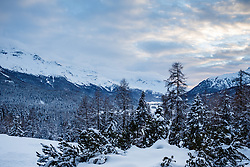 Travel photography from St Moritz Switzerland. © Lee Irvine, PelicanImages 2018