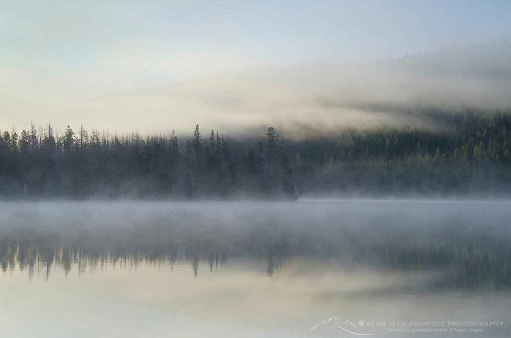 Gog on Stanley Lake, Sawtooth Mountains, Idaho