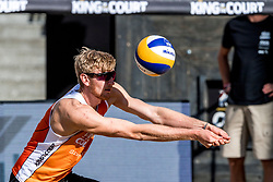 07-09-2018 NED: King of the Court, Utrecht<br /> 5 teams play in 3 rounds for the title 'King of the Court Jasper Bouter #2 NED
