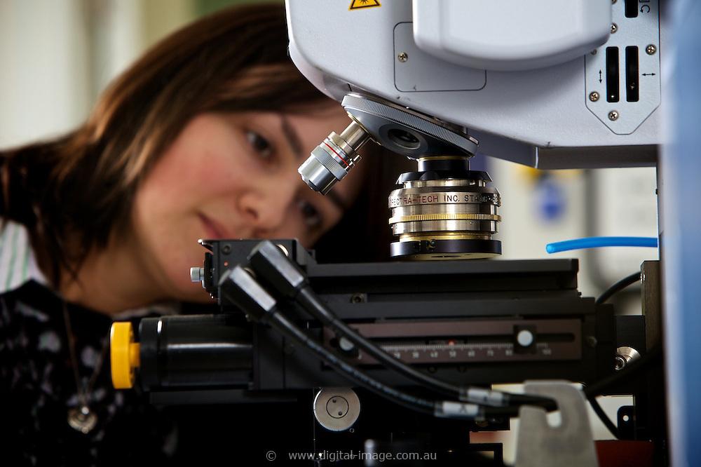 Infrared Beamline, Australian Synchrotron.   Infrared Beamline staff, Danielle Martin