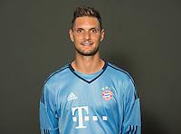 German Soccer Bundesliga 2015/16 - Photocall of FC Bayern Munich on 16 July 2015 in Munich, Germany: goalkeeper Sven Ulreich