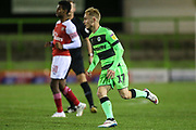 Forest Green Rovers Isaac Pearce(17) during the EFL Trophy group stage match between Forest Green Rovers and U21 Arsenal at the New Lawn, Forest Green, United Kingdom on 7 November 2018.