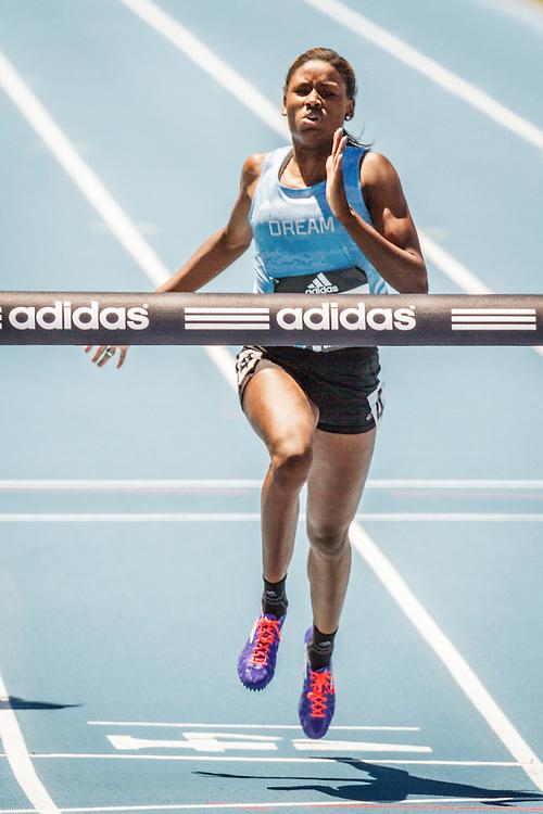 adidas Grand Prix Diamond League Track & Field: Girls adidas Dream 100m, Candace Hill