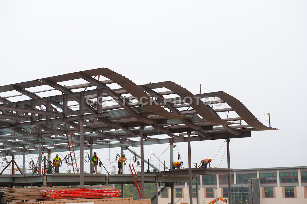 Construction of Newport Beach City Hall