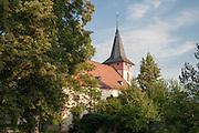 Kirche, Bad König, Odenwald, Naturpark Bergstraße-Odenwald, Hessen, Deutschland | church, Bad König, Odenwald, Hesse, Germany