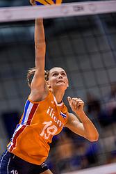 24-08-2017 NED: World Qualifications Netherlands - Czech Republic, Rotterdam<br /> Nika Daalderop #19 of Netherlands