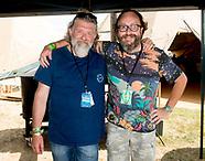 HAIRY BIKERS  at the Cornbury Music Festival