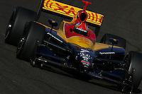 Bryan Herta, Indy Racing Phoenix preseason testing