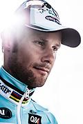 portret van wielrenner Tom Boonen vlak na zijn overwinning in de Ronde van Vlaanderen