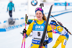 March 10, 2019 - –Stersund, Sweden - 190310 Mona Brorsson of Sweden look dejected after the Women's 10 km Pursuit during the IBU World Championships Biathlon on March 10, 2019 in Östersund..Photo: Petter Arvidson / BILDBYRÃ…N / kod PA / 92254 (Credit Image: © Petter Arvidson/Bildbyran via ZUMA Press)