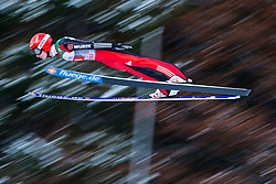 06.01.2015, Paul Ausserleitner Schanze, Bischofshofen, AUT, FIS Ski Sprung Weltcup, 63. Vierschanzentournee, Probedurchgang, im Bild Richard Freitag (GER) // Richard Freitag of Germany soars trought the air during his Trial Jump for the 63rd Four Hills Tournament of FIS Ski Jumping World Cup at the Paul Ausserleitner Schanze, Bischofshofen, Austria on 2015/01/06. EXPA Pictures © 2015, PhotoCredit: EXPA/ Johann Groder