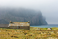 Hikers Bothy at Rackwick, Isle of Hoy, Orkney Islands Scotland