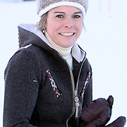 AUT/Lech/20080210 - Fotosessie Nederlandse Koninklijke familie in lech Oostenrijk, prinses Laurentien