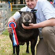 CR0002852 Kinross Show. John Lyle, Nether Pratis Farm, Leven with Mill End Yee Haa, Overall Champion in 1 Shear and Over Class, Tup Lambs. 11 Aug 2018 © Copyright photograph by Tina Norris. Contact Tina on 07775 593 830 info@tinanorris.co.uk All print sales via Tina Norris. www.tinanorris.co.uk http://tinanorris.photoshelter.com
