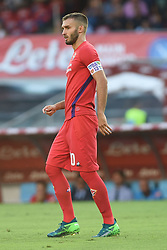 September 15, 2018 - Naples, Naples, Italy - German Pezzella of ACF Fiorentina during the Serie A TIM match between SSC Napoli and ACF Fiorentina at Stadio San Paolo Naples Italy on 15 September 2018. (Credit Image: © Franco Romano/NurPhoto/ZUMA Press)