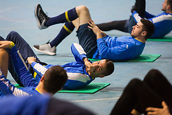 Lovro Bizjak during Training of NK Domzale, on January 10, 2018 in Sports park Domzale, Domzale, Slovenia. Photo by Ziga Zupan / Sportida