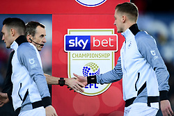 Sky Bet Branding prior to kick off - Mandatory by-line: Ryan Hiscott/JMP - 29/11/2019 - FOOTBALL - Liberty Stadium - Swansea, England - Swansea City v Fulham - Sky Bet Championship