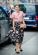Stockholm, 30-05-2017 <br /> <br /> Crown Prince Frederik and Crown Princess Mary of Denmark visit Crown Princess Victoria and Prince Daniel on the occasion of Liveable Scandinavia.<br /> <br />  <br /> Visit at the Danish Embassy<br /> <br /> COPYRIGHT: ROYALPORTRAITS EUROPE/ BERNARD RUEBSAMEN