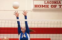 Laconia volleyball versus Gilford September 14, 2010.