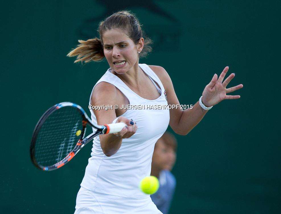 Julia Goerges (GER)<br /> <br /> Tennis - Wimbledon 2015 - Grand Slam ITF / ATP / WTA -  AELTC - London -  - Great Britain  - 30 June 2015.