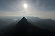 View of Adams Peak.<br />