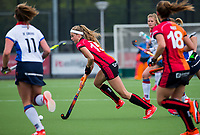 EINDHOVEN -  Yibbi Jansen (Oranje-Rood)     tijdens de   hoofdklassewedstrijd hockey dames ORANJE ROOD-SCHC (0-2) . Ondanks het verlies plaatst OR zich voor de play offs.  COPYRIGHT KOEN SUYK