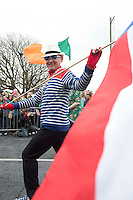 17/03./2014 Scene from the Galway St Patrick's Day parade. Photo:Andrew Downes .