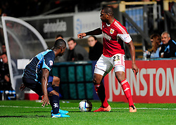 Bristol City's Marlon Harewood in action - Photo mandatory by-line: Joe Dent/JMP - Tel: Mobile: 07966 386802 08/10/2013 - SPORT - FOOTBALL - London Road Stadium - Peterborough - Peterborough United V Brentford - Johnstone Paint Trophy