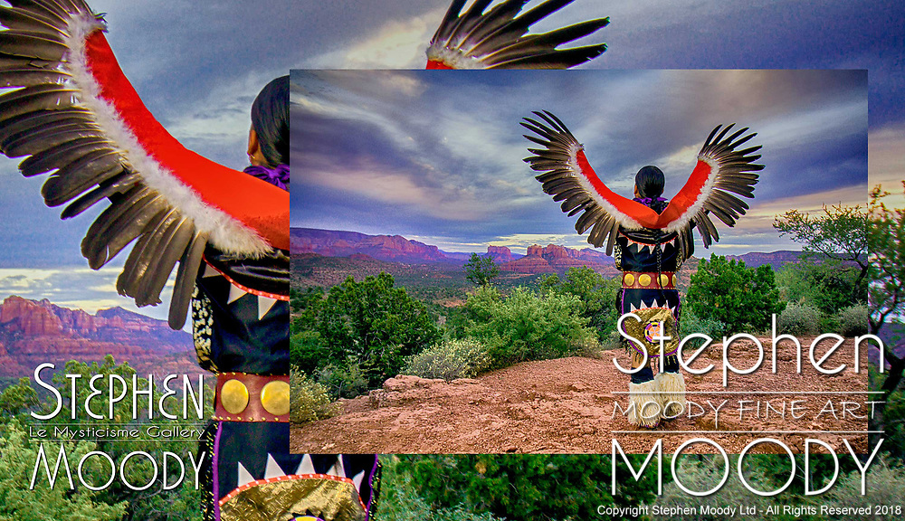 Mixed Media Fine Art by Artist Stephen Moody - Master Photographer, Scottsdale, AZ.  Commissioned Artwork for Sale